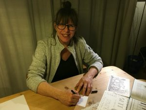 Cathy van Nes Zentangle workshops op Terschelling Hallo Terschelling