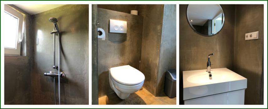 Badkamer Huisje de Akker - Hallo Terschelling